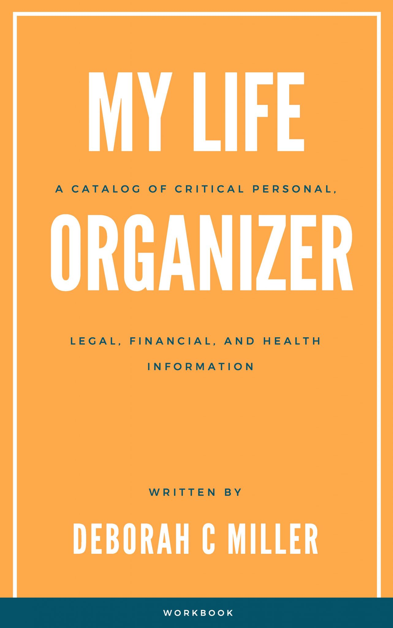 My Life Organizer book