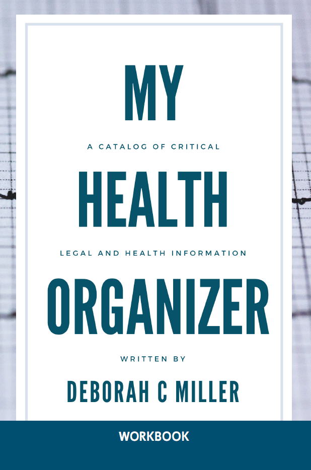My health organizer book